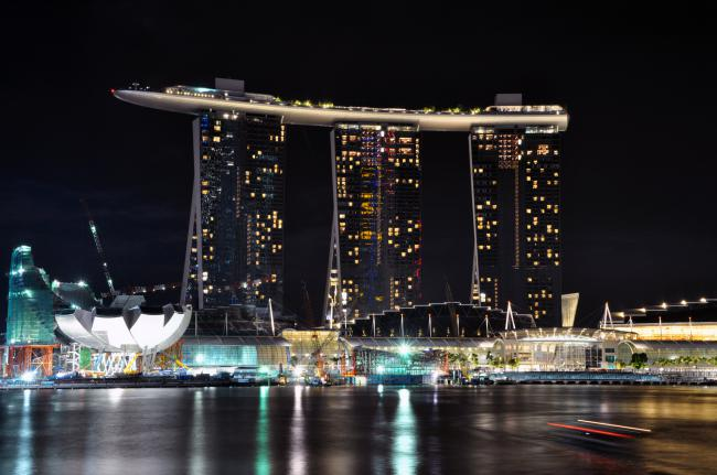Марина Бэй Сэндс,Marina Bay Sands,Сингапур